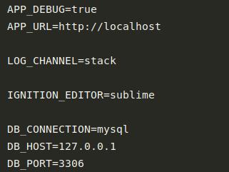 Treść pliku konfiguracyjnego zawierający przykładową konfigurację Ignition